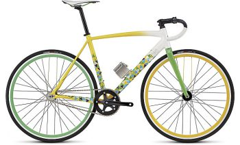 LANGSTER RIO - Gloss Dirtywht/Yellow/Green/Light Blue/Blue/Silver