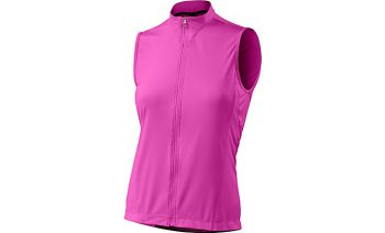 SPECIALIZED WOMEN'S RBX COMP SLEEVELESS JERSEY - Neon Pink