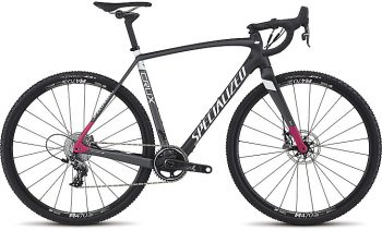 SPECIALIZED CRUX EXPERT X1 2017 - Carbon/Charcoal/Bright Pink