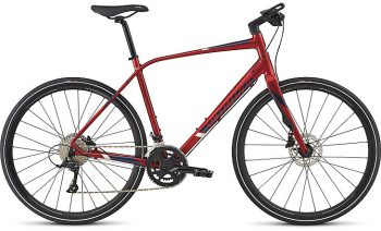 SPECIALIZED SIRRUS ELITE 2017 - Candy Red/Navy/Baby Blue