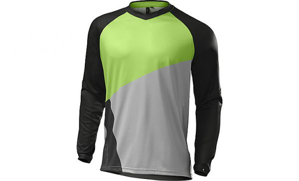 SPECIALIZED DEMO PRO LONG SLEEVE JERSEY - Monster Green/Grey