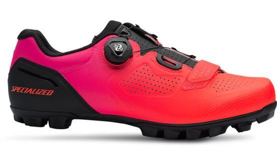 Specialized Expert XC MTB Shoes - Black/Acid Lava