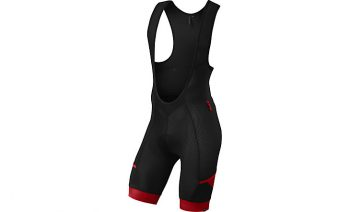 SPECIALIZED MOUTAIN LINER BIB SHORTS WITH SWAT - Black/Red
