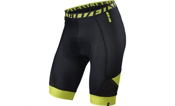 SPECIALIZED MOUTAIN LINER SHORTS WITH SWAT - Black/Hyper