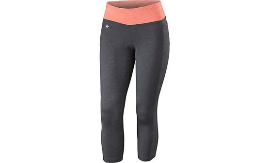 SPECIALIZED SHASTA CYCLING KNICKERS - Carbon/Coral Heather