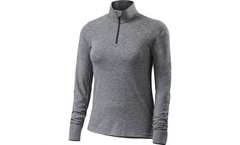 SPECIALIZED SHASTA LONG SLEEVE TOP - Carbon Grey Heather