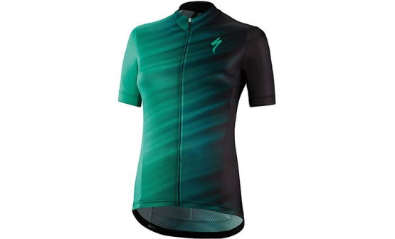 Specialized SL Expert SS Women's Jersey - Black/Acid Mint Faze