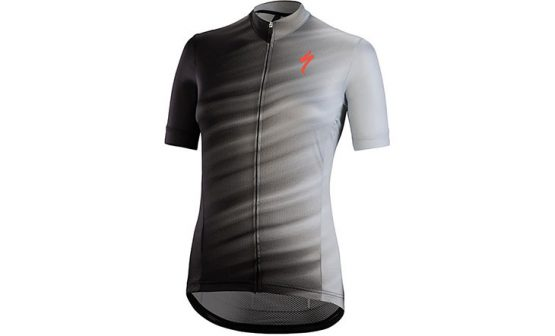 Specialized SL Expert SS Women's Jersey - Light Grey/Black Faze