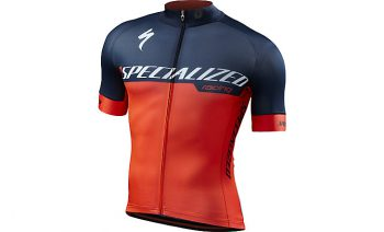 SPECIALIZED SL EXPERT JERSEY - Team Rocket Red/Navy