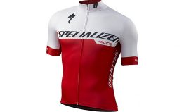SPECIALIZED SL EXPERT JERSEY - Team White/Red