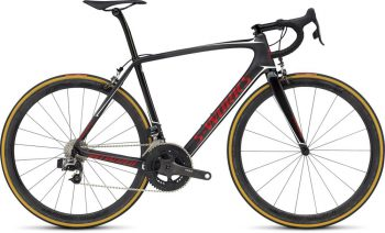 SPECIALIZED S-WORKS TARMAC ETAP - Satin/Gloss Carbon/Flo Red/Matallic White