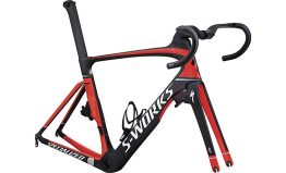SPECIALIZED S-WORKS VENGE VIAS MODULE - Satin Carbon/Rkt Red/Lt Blue/White