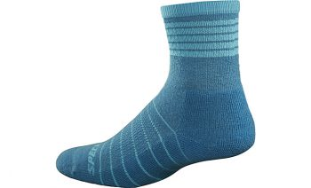 SPECIALIZED WOMEN'S MOUNTAIN MID SOCKS - Turquoise