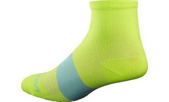 SPECIALIZED WOMEN'S SL MID SOCKS - Neon Yellow