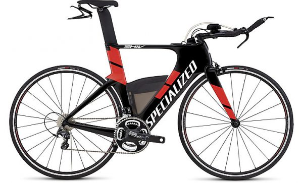 SPECIALIZED SHIV EXPERT 2017 - Gloss Carbon / Rocket Red
