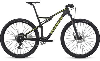 SPECIALIZED EPIC FSR COMP CARBON WC 2017 - SATIN CARBON/HYPER