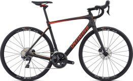 Specialized Roubaix Comp - Satin Carbon/Rocket Red