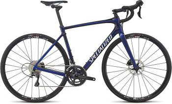 SPECIALIZED ROUBAIX COMP 2017 - Gloss AC Blue/Tarmac Black Edge Fade/Clean