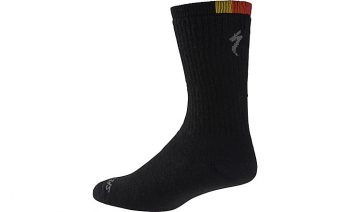 SPECIALIZED WINTER WOOL TALL SOCKS - 74 Black