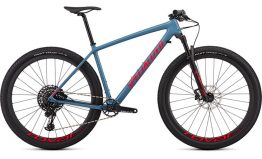Specialized Men's Epic HT Expert - Gloss Storm Grey/Rocket Red