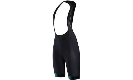 Specialized SL Expert Women's Bib Shorts - Black/Acid Mint Faze