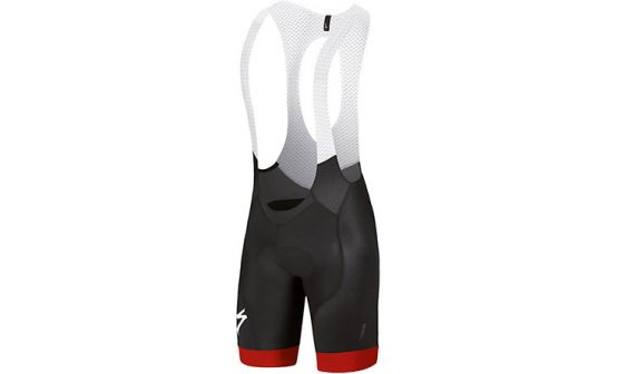 Specialized SL Pro Bib Shorts - Black/Red