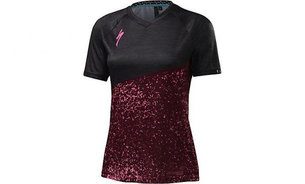 Specialized Women's Andorra Comp Jersey - Burgundy