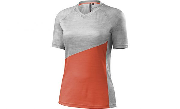 Specialized Women's Andorra Comp Jersey - Neon Coral