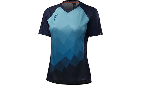 Specialized Women's Andorra Comp Jersey - Turquoise Collage