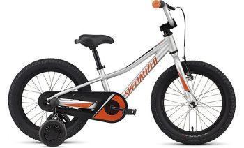 Specialized Riprock Coaster 16 - Satin Light Silver/Moto Orange/Black