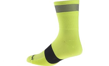 Specialized Reflect Tall Socks - Neon Yellow