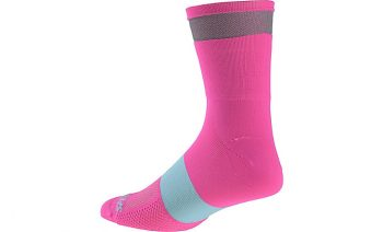 Specialized Women's Reflect Tall Socks - Neon Pink