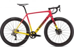 Specialized S-Works Crux - Gloss Golden Yellow/Vivid Pink/Black