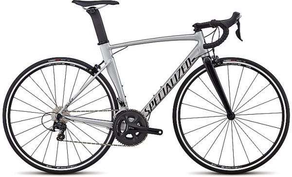 Specialized Allez Comp 2018 - Satin Brushed/Gloss Tarmac Black