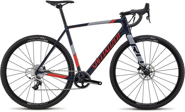 Specialized CruX Elite X1 2018 - Gloss Cast Blue/Rkt Red/Cool Gray