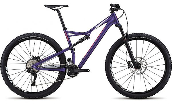 Specialized Men's Camber Comp 29 2018 - Heritage Gloss Purple/White/Acid Pink