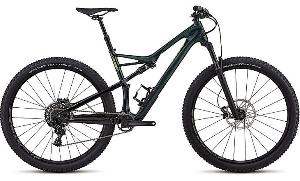 Specialized Men's Camber Comp Carbon 29 1X 2018 - Gloss Cavendish Green/Hyper Green Clean