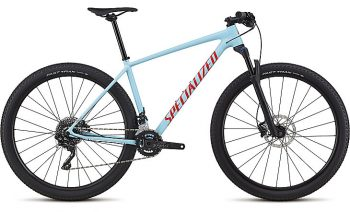 Specialized Men's Chisel Comp 2018 - Gloss Light Blue/Rocket Red