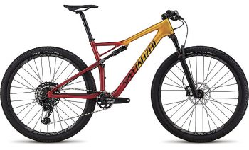 Specialized Men's Epic Expert 2018 - Gloss Gold Flake/Candy Red/Cosmic Black