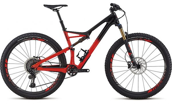 Specialized Men's S-Works Camber 29 2018 - Gloss Satin Black/Rocket Red