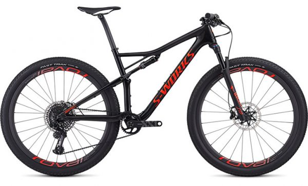 Specialized Men's S-Works Epic - Gloss Carbon/Rocket Red