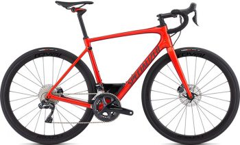 Specialized Roubaix Expert UDi2 - Gloss Rocket Red/Candy Red Edge Fade/Clean