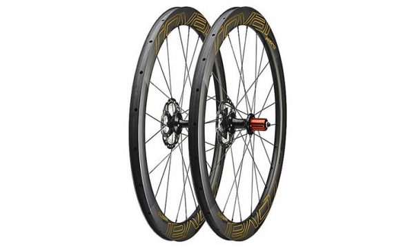 Roval CLX 50 Disc Limited Wheelset - Satin Carbon/Gold