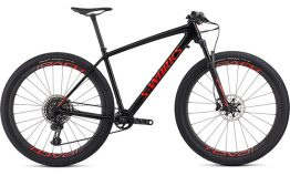 Specialized Men's S-works Epic HT - Gloss Carbon/Rocket Red