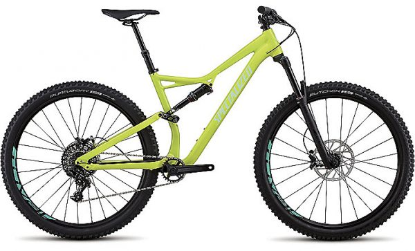 Specialized Stumpjumper Comp Alloy 29 2018 - Gloss Hyper/Mint Clean