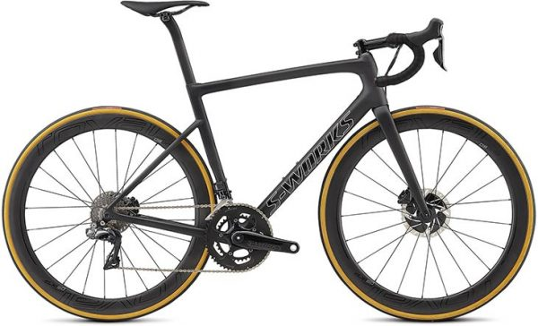 Specialized Men's S-Works Tarmac Disc - Satin Black/Silver Holo/Clean