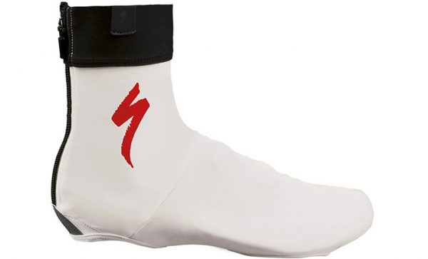 Specialized Shoe Cover S-logo - White/Red