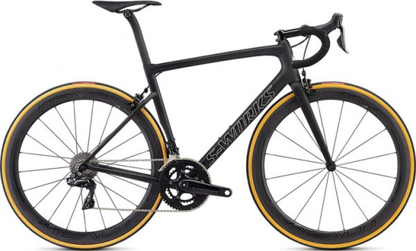 Specialized Men's S-Works Tarmac - Satin Black/Silver Holo/Clean