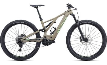 Specialized Men's Turbo Levo Comp - Taupe/Acid Kiwi