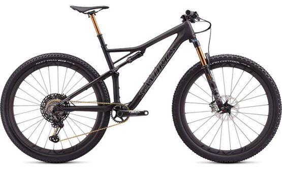 Specialized S-Works Epic - Satin Carbon/Holographic Chrome